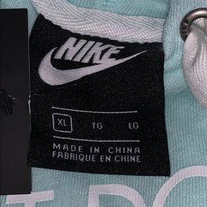 Nike Tops - Nike Vintage Front Logo Pullover Hoodie